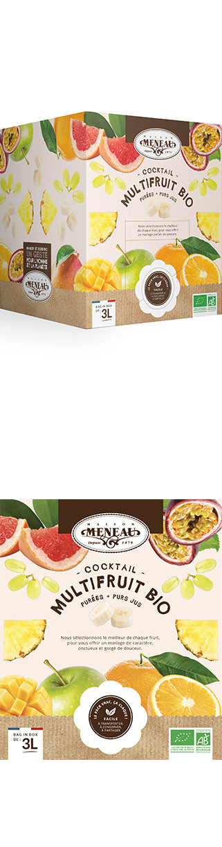 Cocktail Bio multifruits Fontaine 3 L